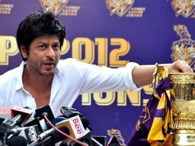 File picture of Shah Rukh Khan. AFP
