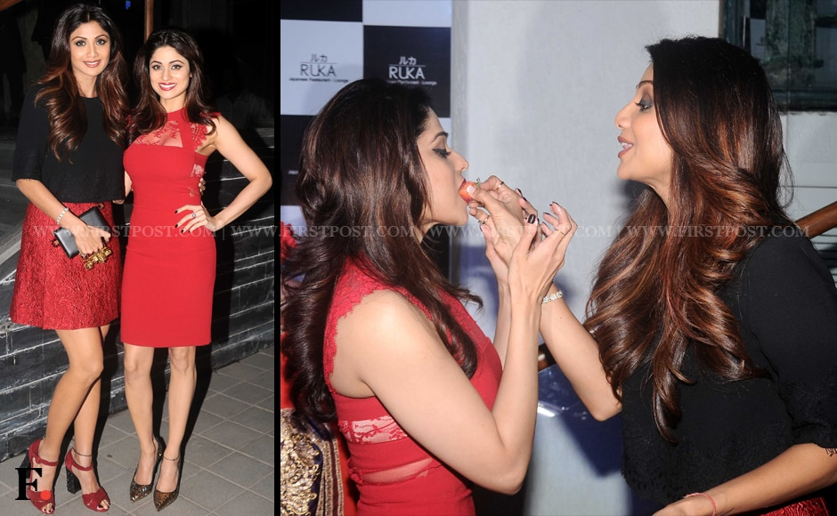 Shilpa Shetty and Shamita Shetty. Sachin Gokhale/Firstpost