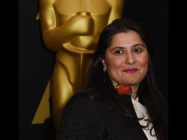 Sharmeen Obaid-Chinoy. AFP