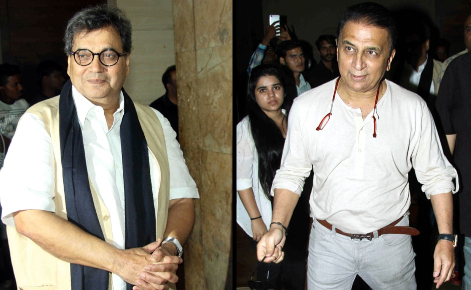 Subhash Ghai and Sunil Gavaskar. Firstpost