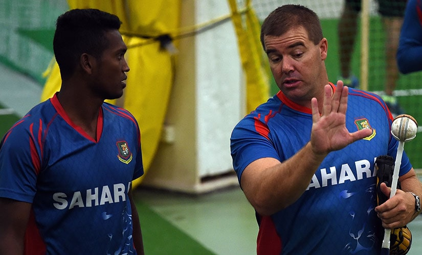 I am quite easy going, I am not an in-your-face aggressive sort of guy. I like chatting a lot about cricket and auctions and see what motivates the guys: Heath Streak on his coaching style. AFP