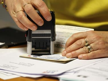 On arrival, the visitor has to present the authorisation to the immigration authorities who would then stamp the entry into the country. (Representational image) REUTERS