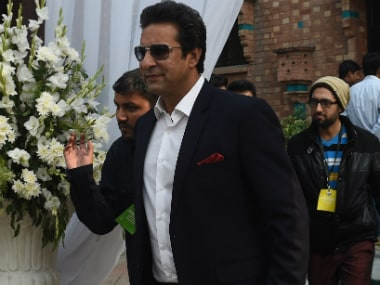 File photo of Wasim Akram. AFP