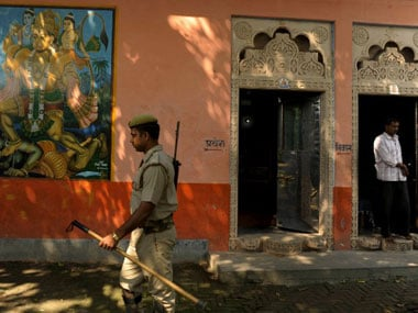 Ayodhya temple. AFP