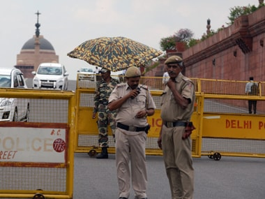 Delhi police. File photo. AFP