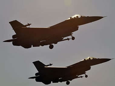 Representational image of F-16 fighter airplanes. AFP