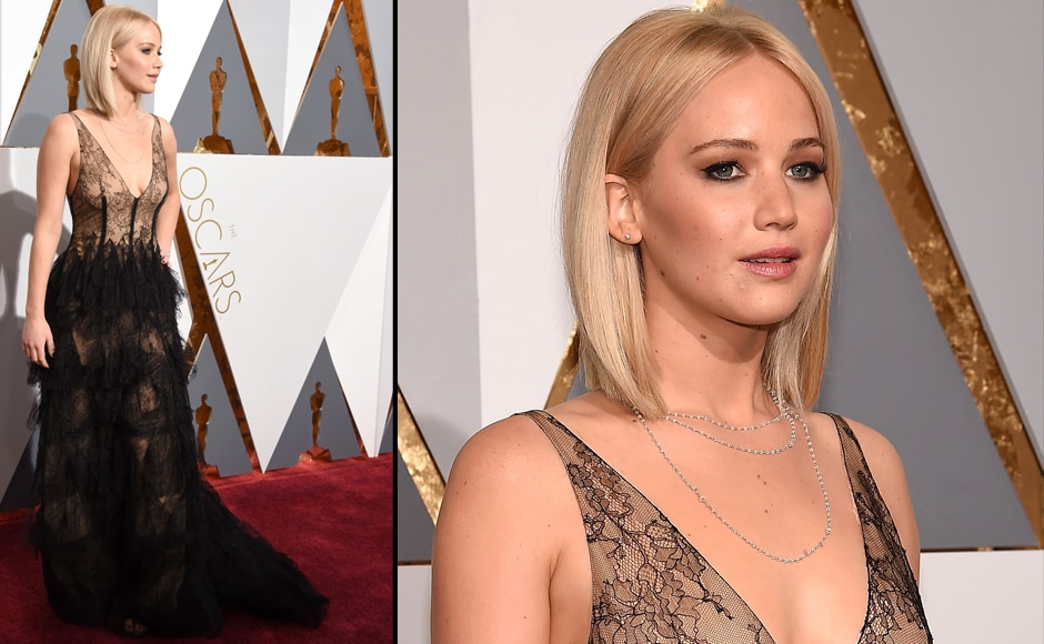 Not much too say about Jennifer Lawrence apart from the fact that she looks beautiful. (Getty Images)