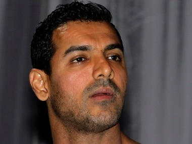 """Actor John Abraham attends a news conference before the world premiere of Bollywood movie """"Housefull 2: The Dirty Dozen"""" at the Resort World Sentosa in Singapore April 3, 2012. REUTERS/Tim Chong (SINGAPORE - Tags: ENTERTAINMENT HEADSHOT)"""