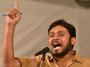 JNUSU president Kanhaiya Kumar. Image courtesy ibnlive.com