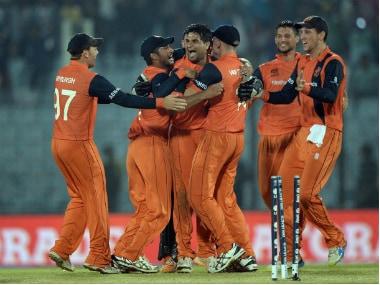 Netherlands cricket team. AFP