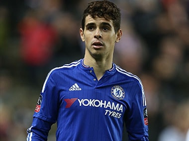 Midfielder Oscar has no clue why Chelsea can't get back to winning track. Getty