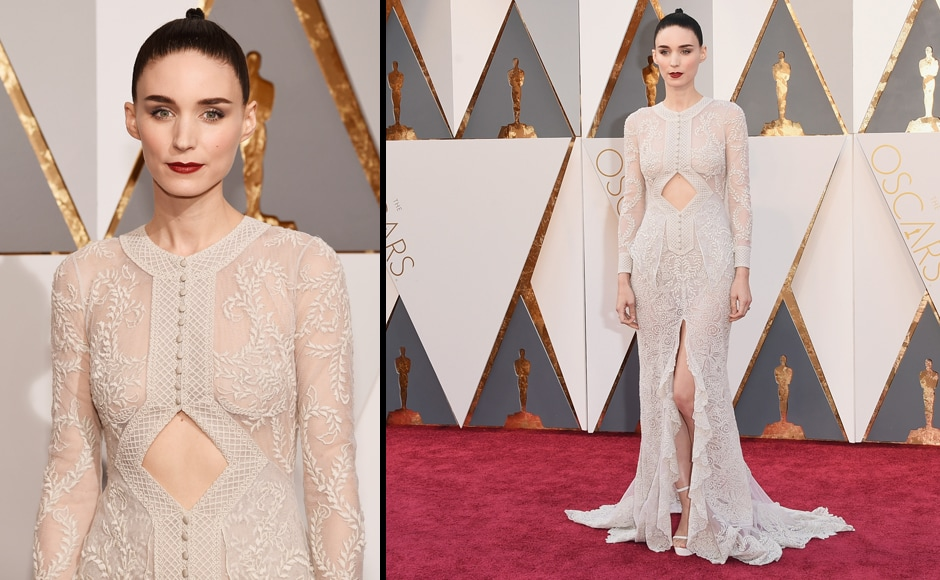 Hey, Rooney Mara, where's your dragon tattoo? (Getty Images)
