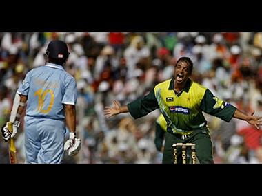 From Eden Gardens to Centurion, Shoaib Akhtar has had many memorable on-field battles with Sachin Tendulkar. Reuters