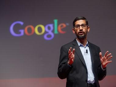 Google CEO Sundar Pichai. Reuters.