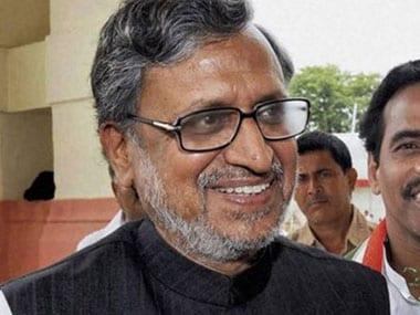 Bihar's former deputy chief minister Sushil Kumar Modi. PTI