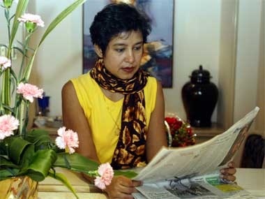 Author Taslima Nasreen. Reuters