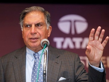Ratan Tata, interim Chairman, Tata Sons. Reuters