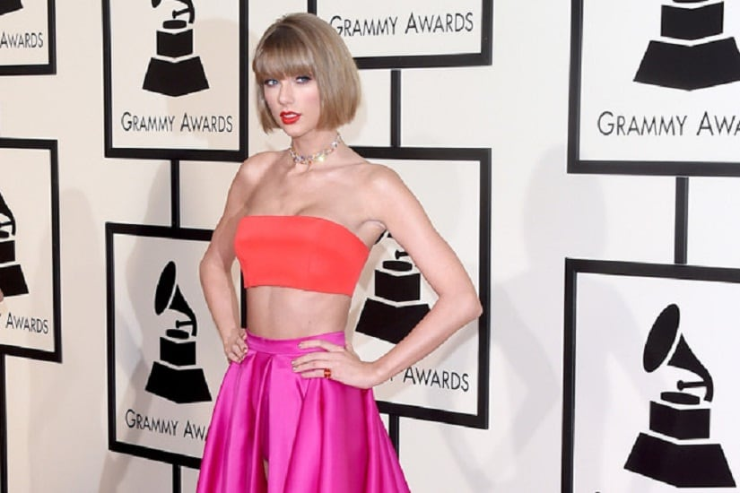 Grammys red carpet: Taylor Swift stuns in bright colours; Adele, Justin Bieber look gorgeous