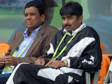 File photo of former Pakistan cricket team captain Javed Miandad. AP