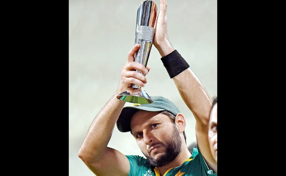 Shahid Afridi was awarded the Man of the Match for his blistering knock. PTI