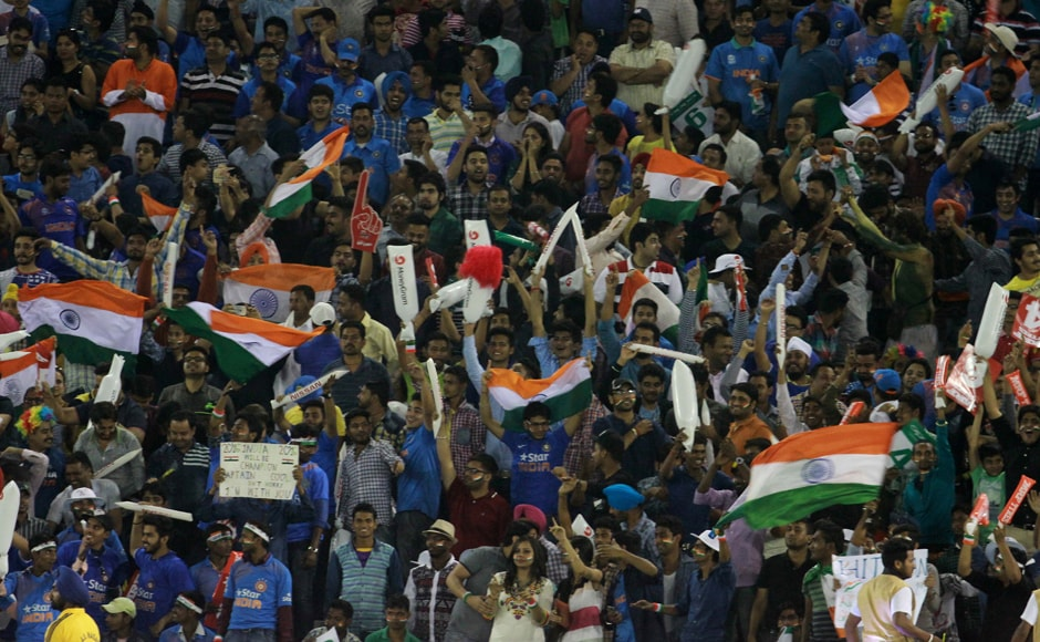 Indian fans turned out in large numbers to support their team at Mohali and the team didn't disappoint putting up a performance to remember. Solaris Images