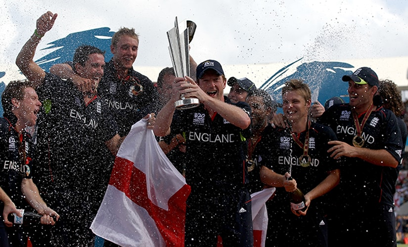 England earned their first-ever ICC trophy in the perfect fashion, by defeating arch-rivals Australia in the finals. Getty Images