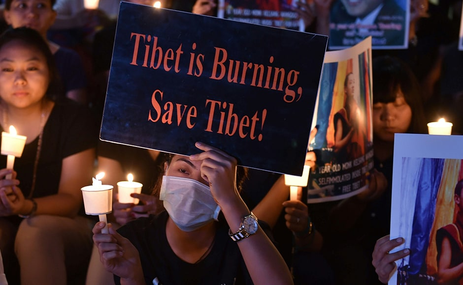 The Dalai Lama has described the burnings as acts of desperation that he is powerless to stop. He has said he is reluctant to condemn them to avoid offending the families of the dead. AFP