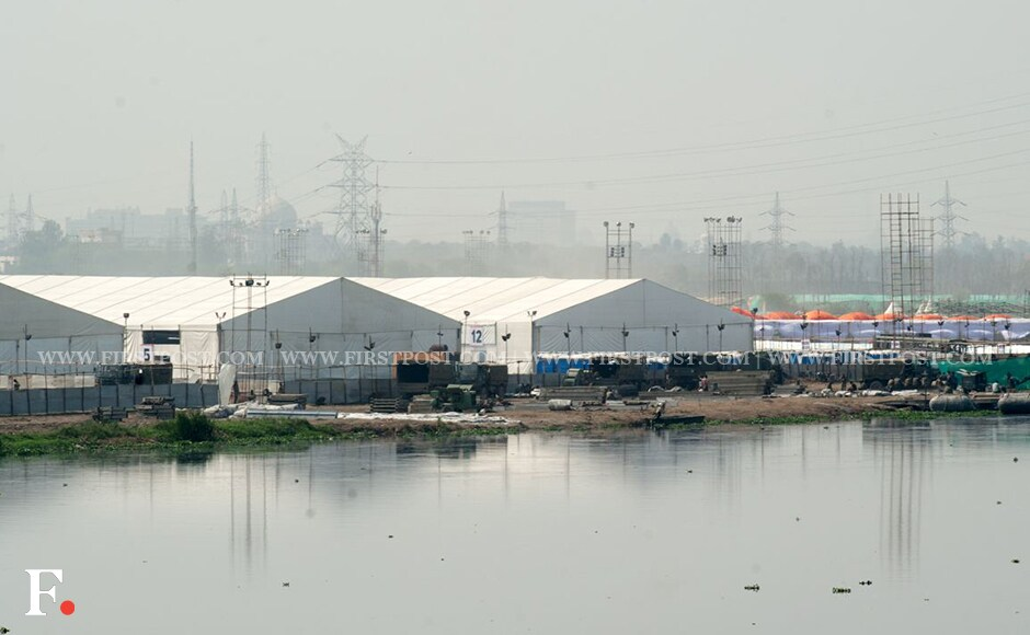 The NGT asked the Art of Living Foundation at the hearing on Tuesday as to why a temporary construction on the ground cannot be considered as a 'construction'. The Foundation replied that eco-friendly materials were used for the construction. Naresh Sharma/Firstpost