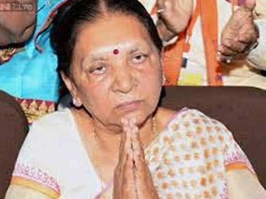 Anandiben Patel. File photo. IBNLive