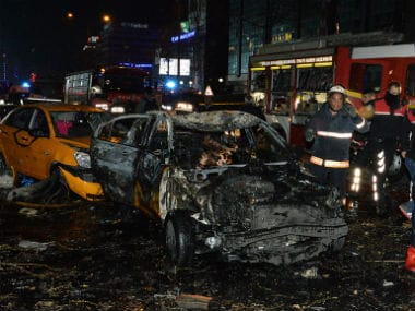 The car bomb in Ankara's central Kizilay neighbourhood on Sunday evening hit a major public transportation hub, killing 37 people and injuring over 100 others. GETTY IMAGES