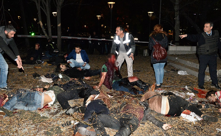 This is the third major blast to hit the Turkish capital since October 2015. On 10 October, 2015, Islamic State militants bombed a peace rally near the Ankara Railway Station that killed 103 people. On 17 February, a suicide car bomb attack targeted military shuttles in the capital city on killing 29 people and injuring 81 others. Getty Images