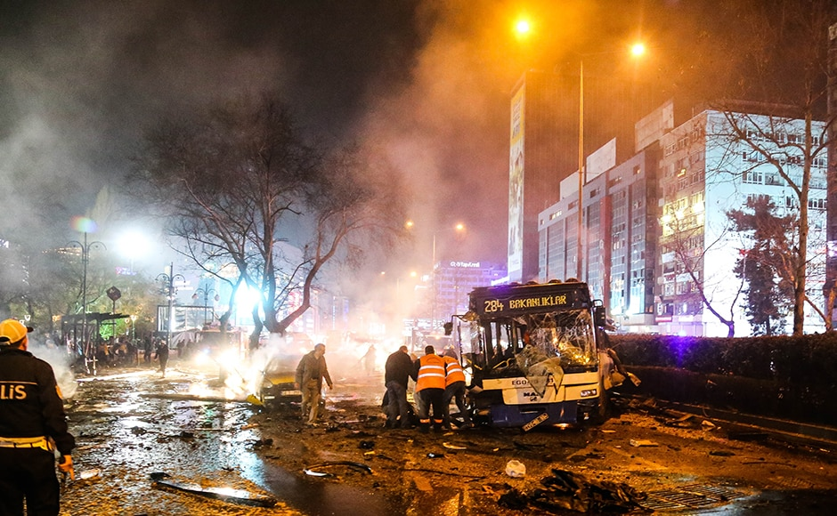 Two days before the attack, the US Embassy had issued a security warning about a potential plot to attack Turkish government buildings and housing in one Ankara neighborhood and asked American citizens to avoid those areas. The cab bomb went off in a different neighborhood. Getty Images