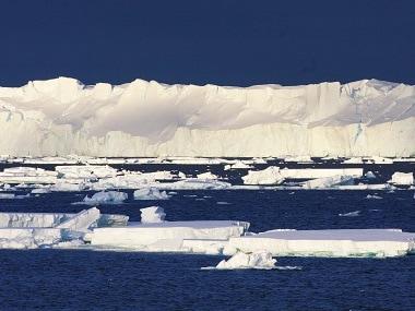 The Totten Glacier in East Antarctica. AFP/ Esmee van Wijk / CSIRO