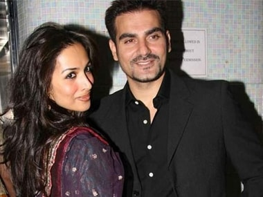 Arbaaz Khan and Malaika Arora. Image from IBNlive