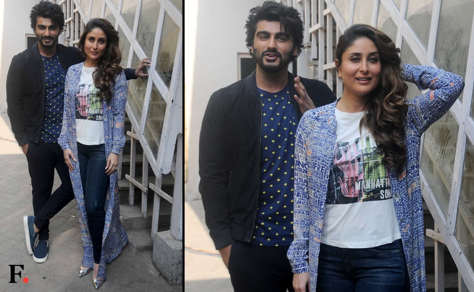"While the film has been lauded for turning conventional gender stereotypes on their head, both Arjun and Kareena have asserted that it does not take a preachy tone, nor is it a ""documentary on women's empowerment"". Image by Sachin Gokhale/Firstpost"