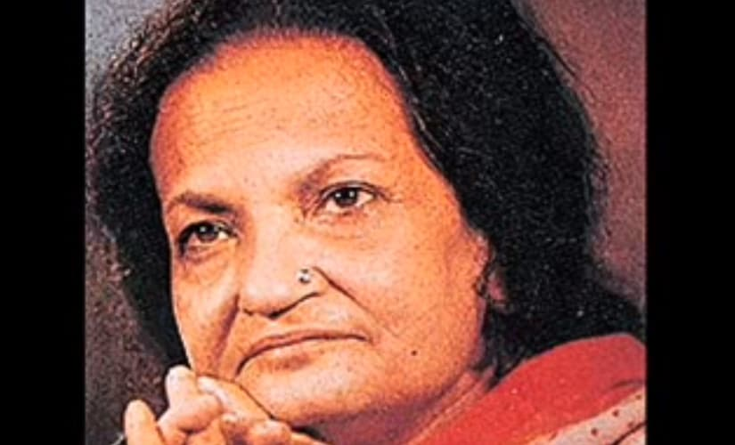 Begum Akhtar. Screen grab from YouTube