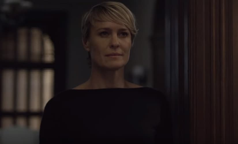 Claire Underwood is unapologetic about wanting an equal share in the prize.