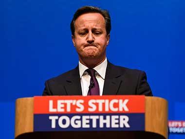 A file photo of David Cameron. Reuters