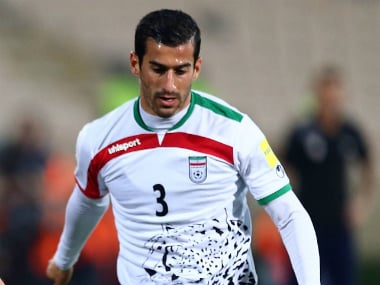 Ehsan Hajsafi scored for Iran in the 33rd and the 66th minute. Getty Images