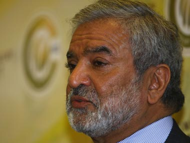 File photo of Ehsan Mani . Getty Images