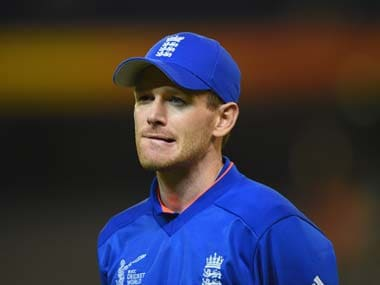 England captain Eoin Morgan. Getty