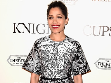 Freida Pinto. Image from Getty