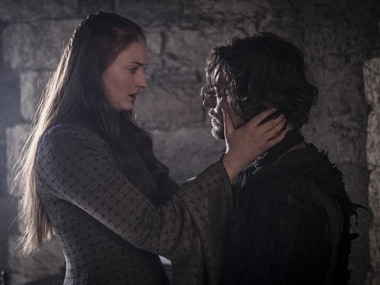 Sansa Stark and Theon Greyjoy in 'Game of Thrones'