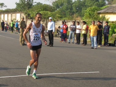 Gurmeet SIngh. Image Courtesy: Athletics federation of India