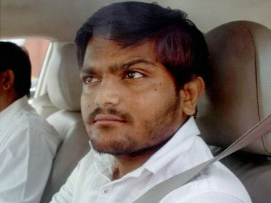 Hardik Patel. PTI