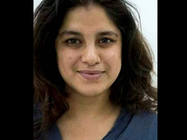 File photo of Hema Upadhyay. PTI
