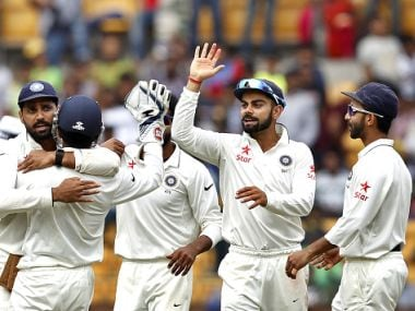 Indian test team. GettyImages