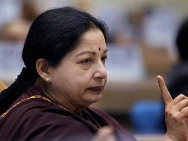 J Jayalalithaa. PTI