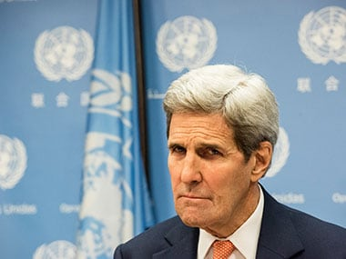 A file photo of John Kerry. Getty images