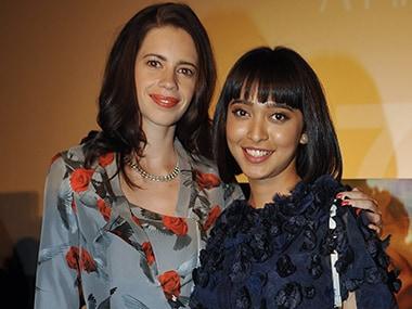 Kalki Koechlin and Sayani Gupta. Image from AFP